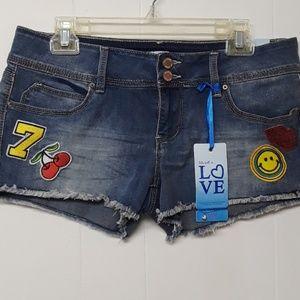YMI shorts NWT